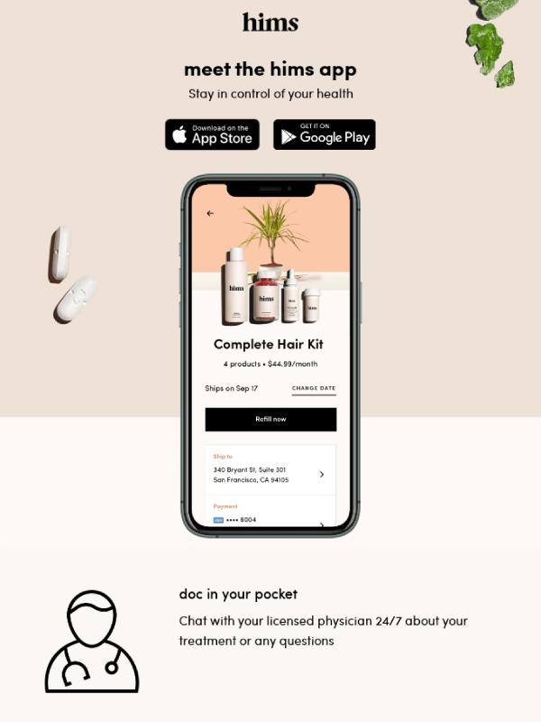 Email design 1