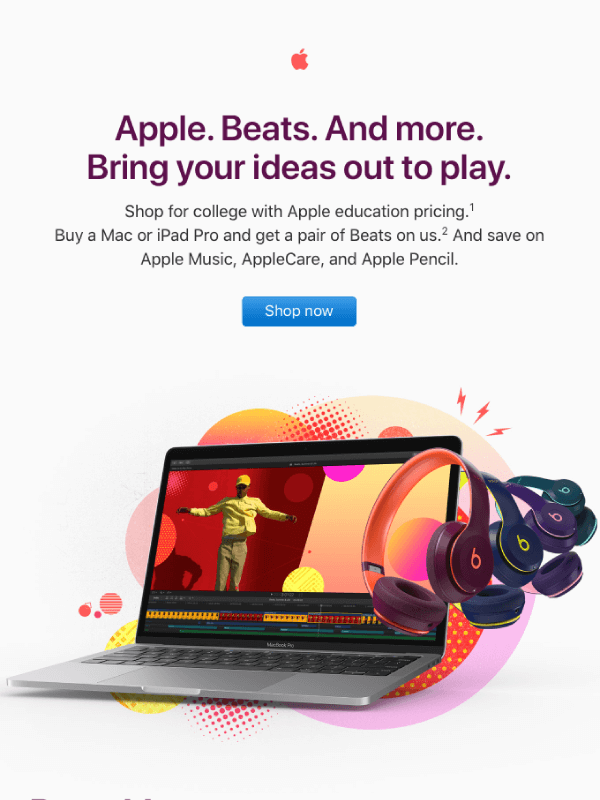 Get Beats when you buy a Mac or iPad Pro by Apple 6
